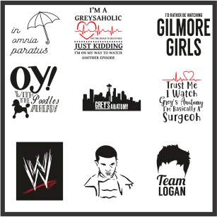 Tv Show Characters Svg