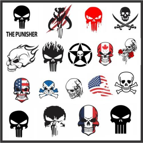 All Skull Svg File