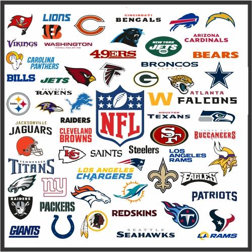 NFL Logos Svg