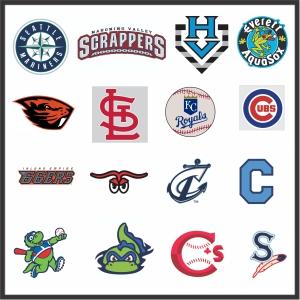 Baseball Teams Logos