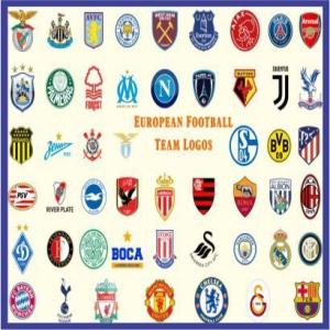 European Footbal Club Logos