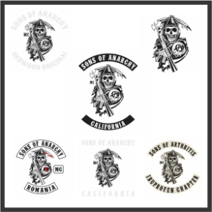 Sons Of Anarchy Svg Cut File