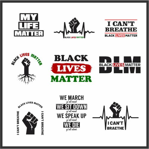 Black Lives Matter Svg