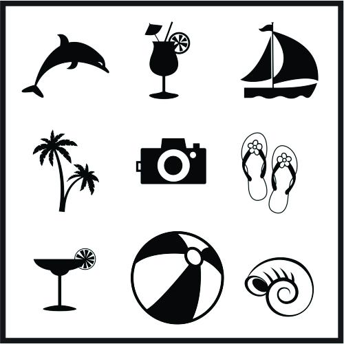 Summer Vacation Svg File