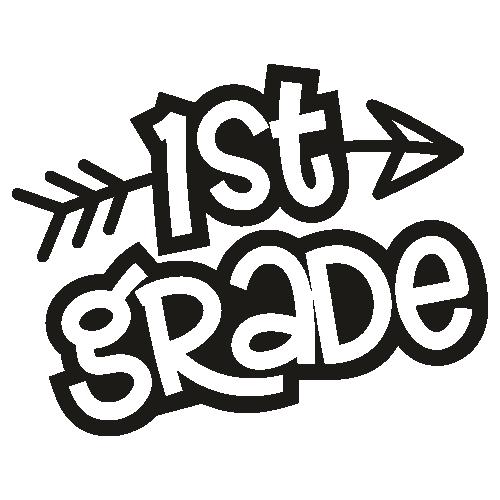 1st Grade Svg
