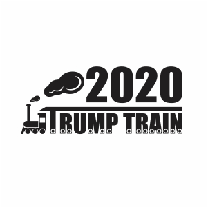 Trump Train Svg Trump Train 2020 Svg Svg Dxf Eps Pdf Png Cricut Silhouette Cutting File Vector Clipart