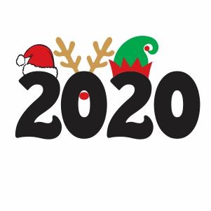 2020 Christmas Clipart