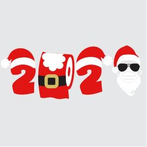 2020 christmas svg 2020 santa svg svg dxf eps pdf png cricut silhouette cutting file vector clipart vector khazana