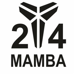 24 Mamba Svg