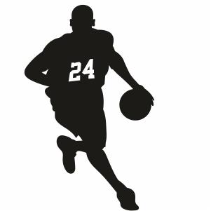 Kobe 24 Basketball Player Svg