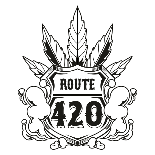 Route 420 Shield Svg