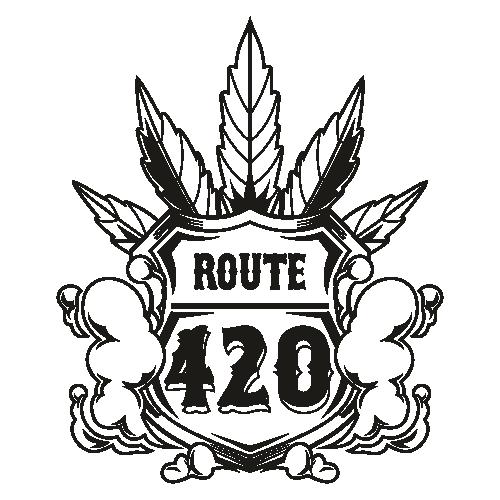Route 420 Shield Svg