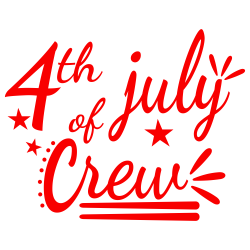 4th Of July Crew Svg