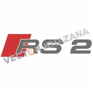 Audi RS 2 Logo Svg