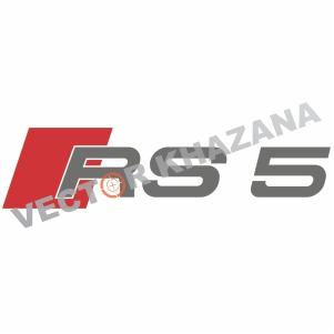 Audi RS 5 Logo Svg