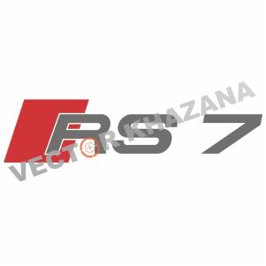 Audi RS 7 Logo Svg