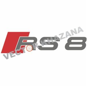 Audi RS 8 Logo Svg