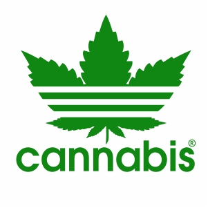 Adidas Cannabis Vector
