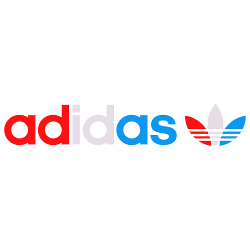 Adidas In 3 colour Svg
