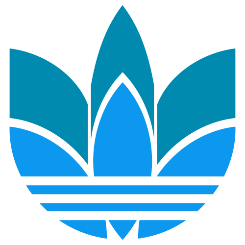 Adidas Two Layer Svg