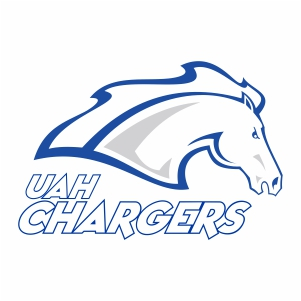 alabama huntsville chargers logo vector