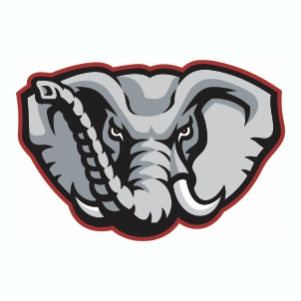 Alabama Elephant Logo Vector