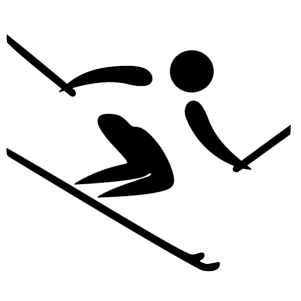 Alpine Skiing Mens World Cup 2020 svg cut
