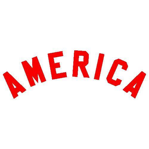 America Letter Svg
