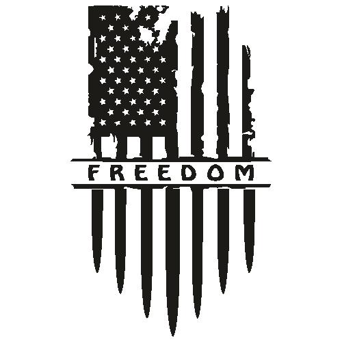 America Flag Freedom Svg