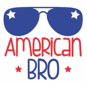 american bro logo vector file
