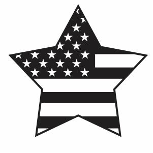 American Flag Star Svg Usa Flag Star Svg Cut File Download Jpg Png Svg Cdr Ai Pdf Eps Dxf Format