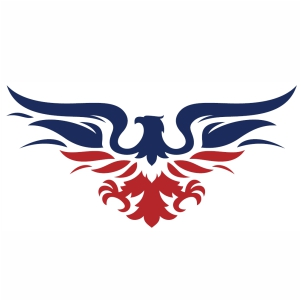 American Eagle Fly svg cut file