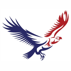 American Bald Eagle svg cut file