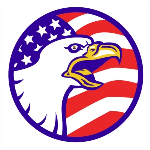American Bald Eagle svg cut