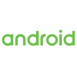 Android Word Logo vector