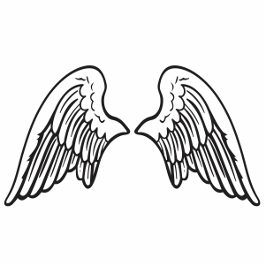 Animal Wings Svg