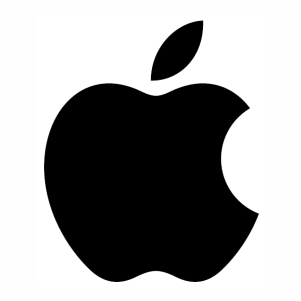 Apple logo svg
