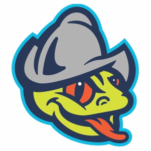 AquaSox head Vector Logo