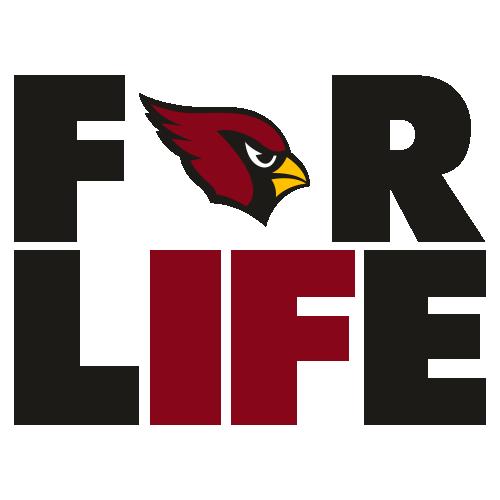 Arizona Cardinals For Life Svg