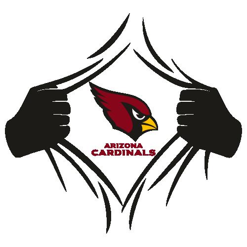 Arizona Cardinals Superman Svg