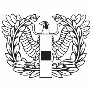 Army Warrant Officer Eagle Svg