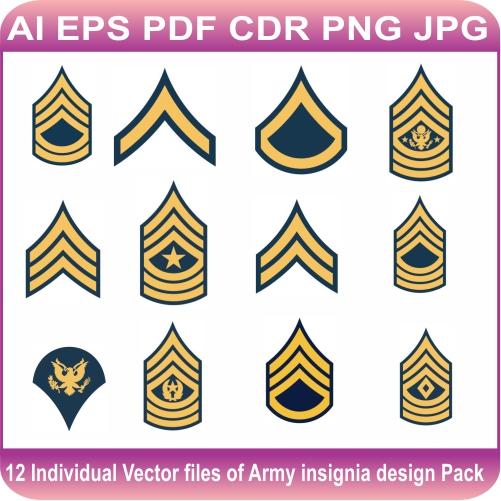 Army Insignia Pack Logo