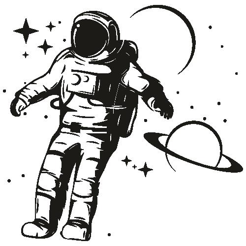 Astronaut Cosmonaut Svg