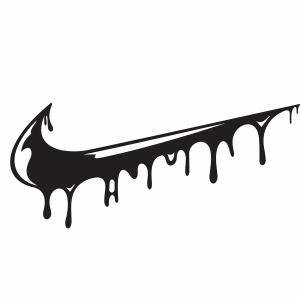 Drip Nike Logo Vector Nike Dripping Logo Vector Image Svg Psd Png Eps Ai Format Vector Graphic Arts Downloads