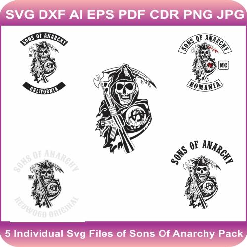 sons of anarchy svg bundle