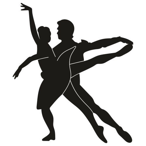 Ballet Couple Dance Svg