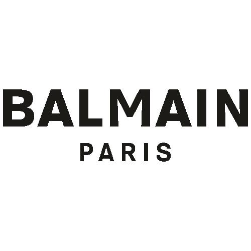 Balmain Paris letters Svg