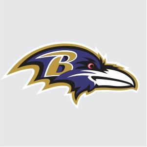 Baltimore Ravens Logo Clipart