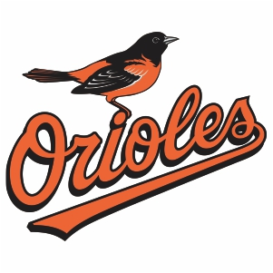 Baltimore Orioles Bird Logo Svg