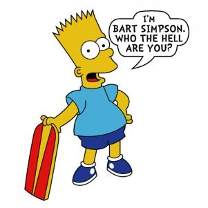 Bart Simpson logo svg